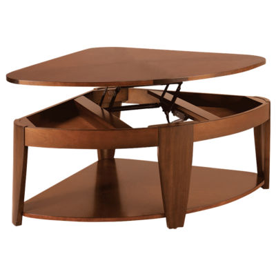 Oasis Wedge LiftTop Cocktail Table Smart Furniture