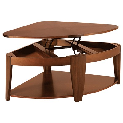 Picture Of Oasis Wedge Lift Top Tail Table By Hammary