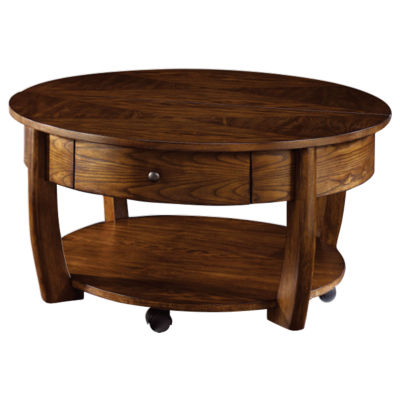 Picture of Concierge Round Cocktail Table by Hammary