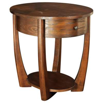 Picture for Concierge Oval End Table by Hammary