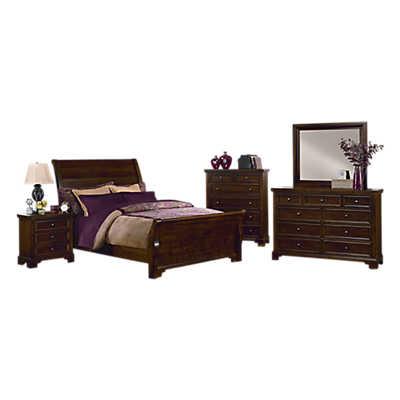 Hanover Bedroom Set by Vaughan Bassett Smart Furniture