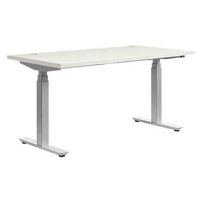 basyx height adjustable desk by hon