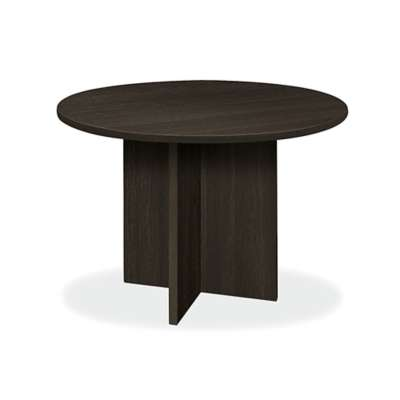 Picture for Basyx Round Conference Table with X Base by HON