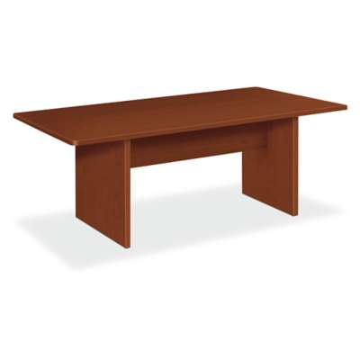 Picture for Basyx Rectangular Conference Table with Slab Base by HON