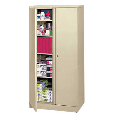 Picture of Basyx Metal Storage Cabinet by Hon, 5 Shelf