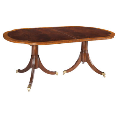 Picture of Copley Place Double Pedestal Dining Table by Hekman