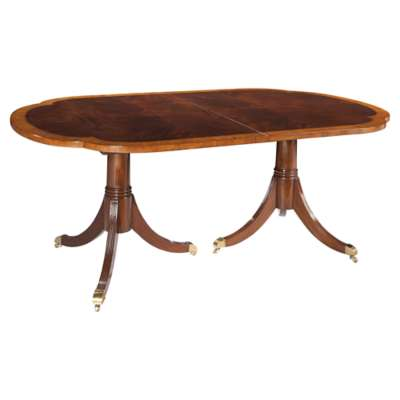 Picture for Copley Place Double Pedestal Dining Table by Hekman
