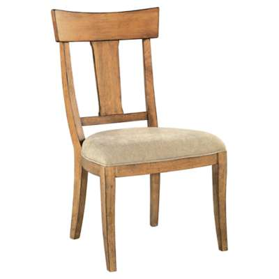 Picture for Wellington Hall Side Chair with Wood Back by Hekman