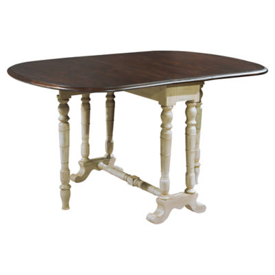 Picture of Hekman Accents Two-Tone Drop Leaf Table by Hekman