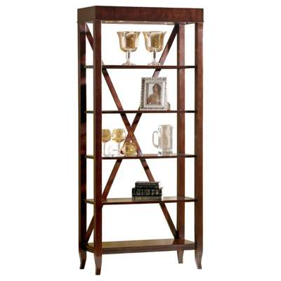 Picture for Metropolis-Occasional Tall Etagere by Hekman