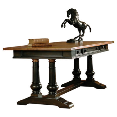 Picture of Tuscan Estates Trestle Desk by Hekman