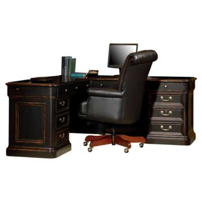 Picture for Home Office Executive Desk L-Desk by Hekman
