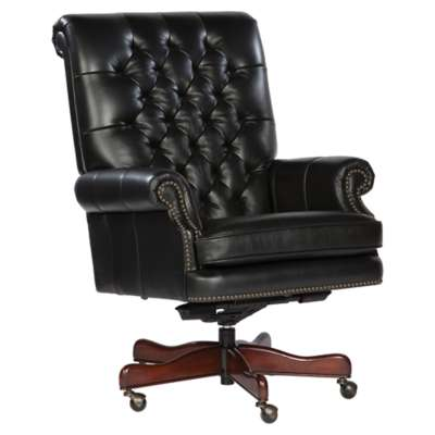 Picture for Leather Executive Chairs with Tufted Back by Hekman