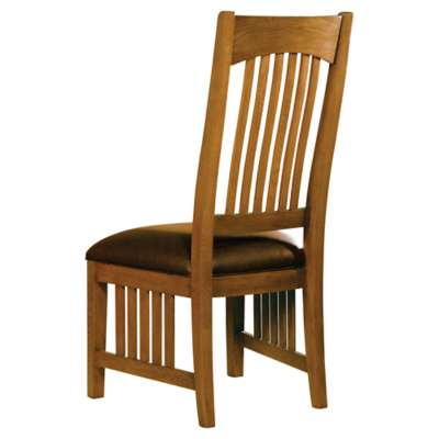 Picture for Arts & Crafts Side Chair with Leather Seat by Hekman