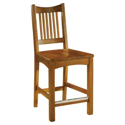 "Picture for Arts & Crafts Dining 42"" Counter Stool with Wood Seat by Hekman"