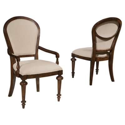 Picture for Charleston Place Oval Back Side Chair by Hekman