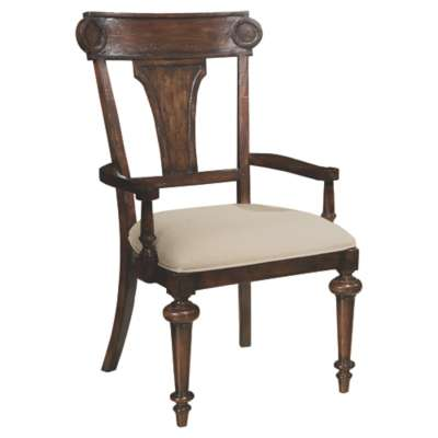 Picture for Charleston Place Panel Back Arm Chair by Hekman