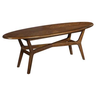 Picture for Mid Century Modern Surfboard Coffee Table by Hekman