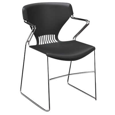 Picture of Olson Stacking Chair with Arms, Set of 4