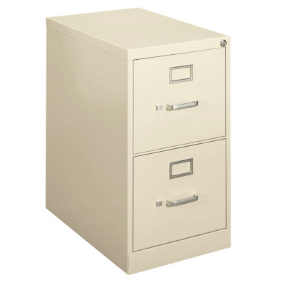 """Picture of 410 2-Drawer Letter File by HON, 26"""" x 15"""" w x 22"""""""