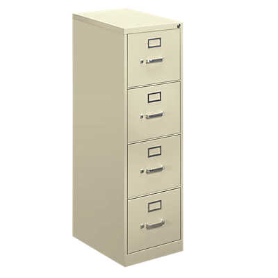 "Picture of Hon 410 4-Drawer Letter File, 48"" x 15"" w x 22"" by Hon"
