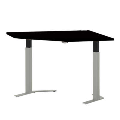 "Picture of Systems 35"" Straight Corner Height Adjustable Table"