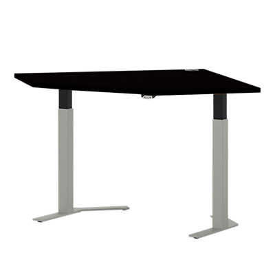 "Picture of Systems 41"" Straight Corner Height Adjustable Table"