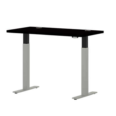"Picture of Systems 46"" Wide Rectangle Height Adjustable Table"