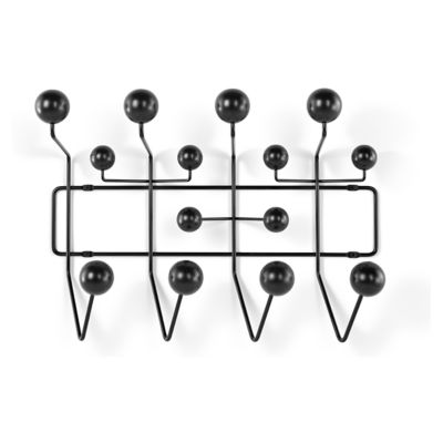 HIA-BLACK: Customized Item of Eames Hang-It-All by Herman Miller (HIA)