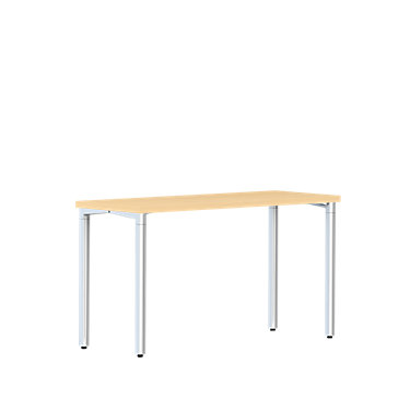 HMDT1AS2472LPLBCBU57NTG: Customized Item of Rectangular Everywhere Table by Herman Miller (HMDT1AS)