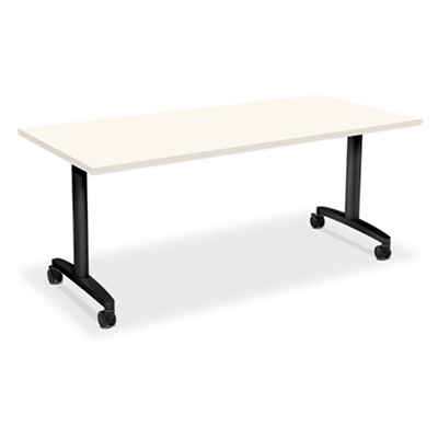 Hon Huddle Table Fliptop Base Smart Furniture - Hon computer table