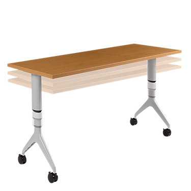HMVRAH.2436NH.GQ: Customized Item of Motivate Adjustable Height Table by HON (HMVRAH)
