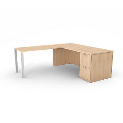 Picture of Currency Right Hand Desk & Return by Steelcase