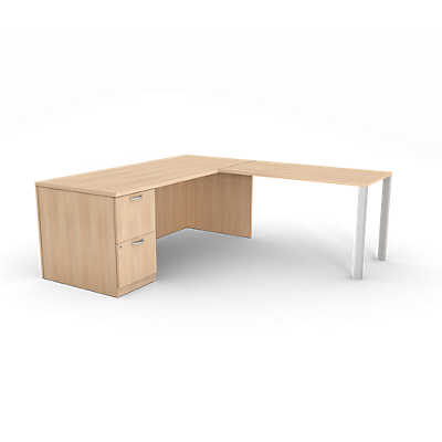 Picture of Currency Left Hand Desk & Return by Steelcase