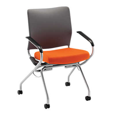 Picture of Perpetual Nesting Chair with Arms by Hon