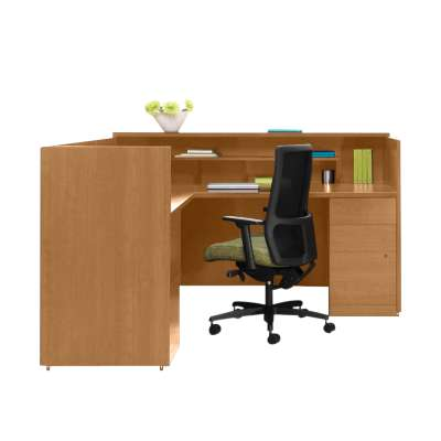 Picture for 10500 Reception Desk 1 by HON