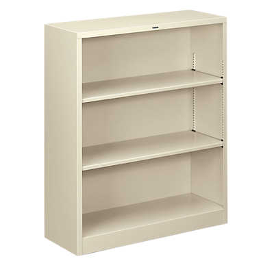 Picture of Brigade Metal Bookcase, 3 Shelf by HON