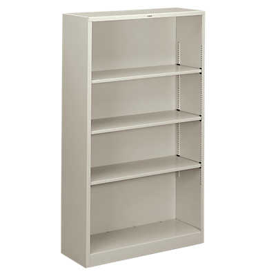 Picture of Brigade Metal Bookcase by Hon, 4 Shelf