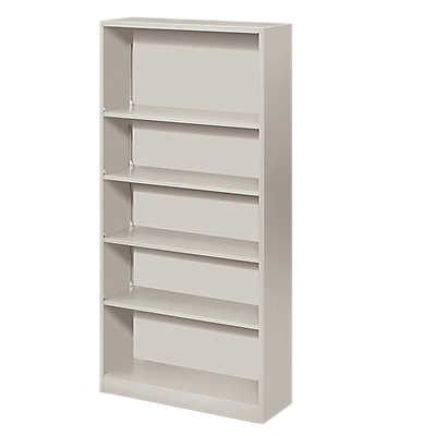 Picture of Brigade Metal Bookcase by Hon, 5 Shelf