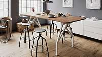 Hot Spot BAR Height Conference Table Ft Smart Furniture - Bar height conference table