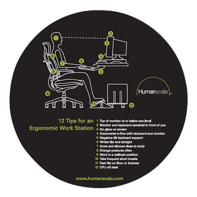 Picture for 12 Tips Ergo Mouse Pad by Humanscale