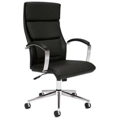 Picture for Basyx HVL105 High Back Leather Executive Chair by HON