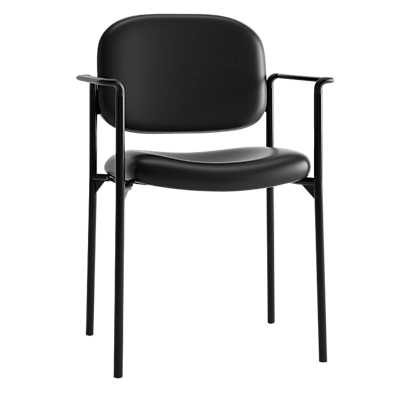 Picture of Basyx Guest Chair, 4-Leg Base with Arms by Hon
