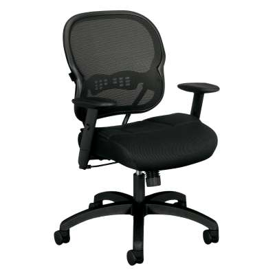 Picture for Basyx HVL712 Work Chair by HON, Mesh Back