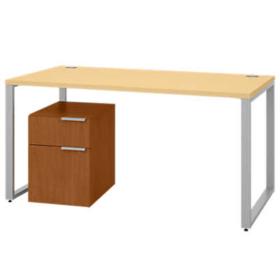 Picture of Voi Desk with Mobile Pedestal by Hon