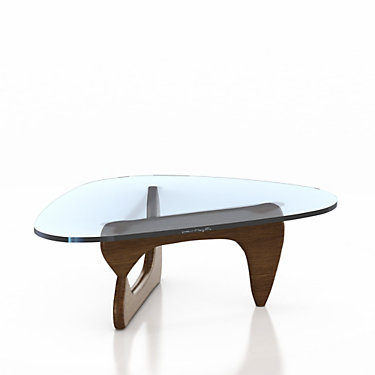 IN50-BLACK: Customized Item of Noguchi Table by Herman Miller (IN50)