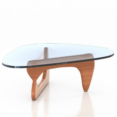 IN50-NATURAL CHERRY: Customized Item of Noguchi Table by Herman Miller (IN50)