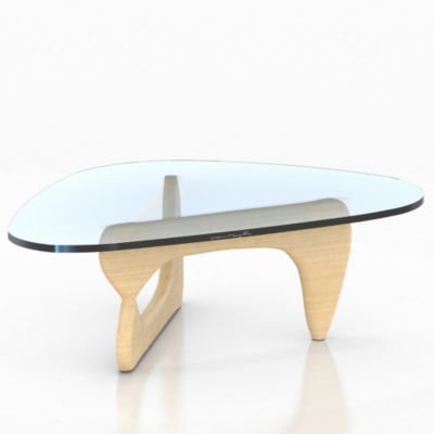 IN50-WHITE ASH: Customized Item of Noguchi Table by Herman Miller (IN50)