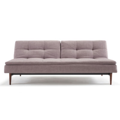 IN94741050C-MIXED DANCE NATURAL-WALNUT: Customized Item of Dublexo Deluxe Sofa Bed by Innovation-USA (IN94741050C)