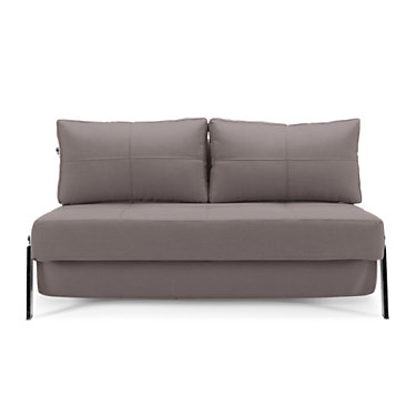 IN94744001C-MIXED DANCE LIGHT GREY-QUEEN: Customized Item of Cubed Deluxe Sofa Bed by Innovation-USA (IN94744001C)